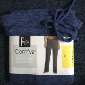 NWT Felina Comfyz Relaxed fit drawstring pant S